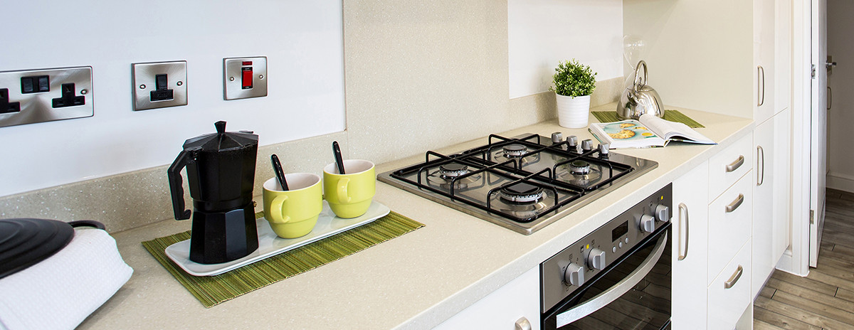 kitchen in new homes near oswestry