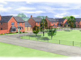 terrace and detached homes for sale Shropshire