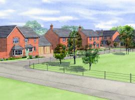 New house Baschurch Shropshire